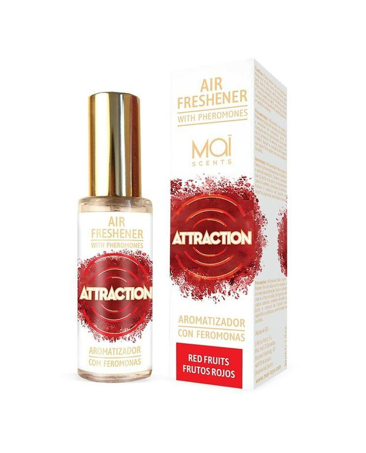 Освежитель воздуха с феромонами и фруктовым ароматом - 30 мл.-10583
