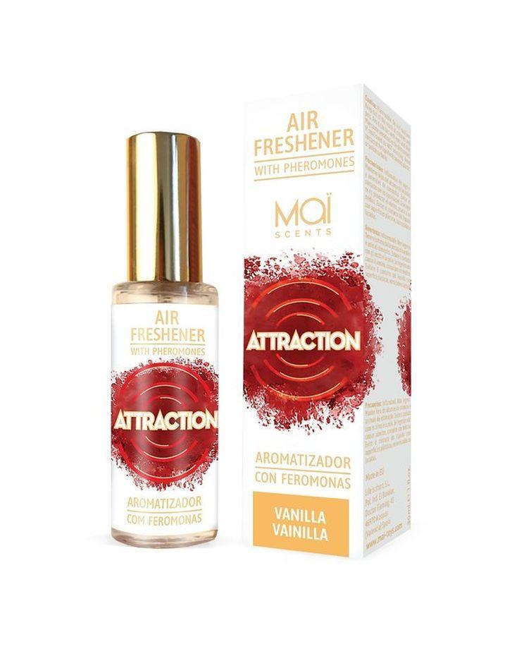 Освежитель воздуха с феромонами и ванильным ароматом - 30 мл.-10584