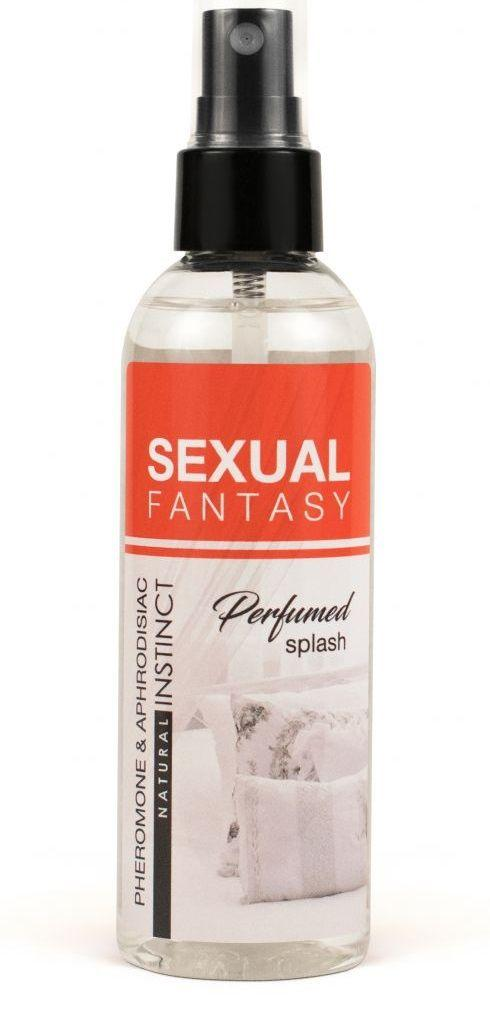 Парфюмированная вода для тела и текстиля Sexual Fantasy - 100 мл.-10477