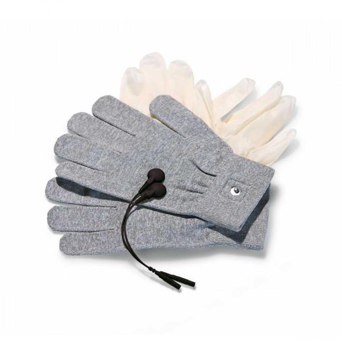 Перчатки для чувственного электромассажа Magic Gloves-5141