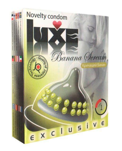 Презерватив LUXE Exclusive Кричащий банан - 1 шт.