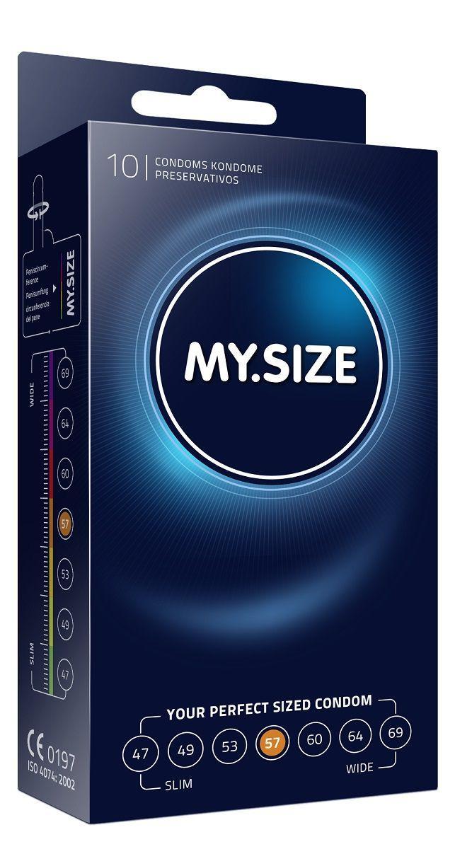 Презервативы MY.SIZE размер 57 - 10 шт.