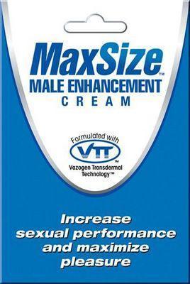 Пробник мужского крема для усиления эрекции MAXSize Cream - 4 мл.-2179