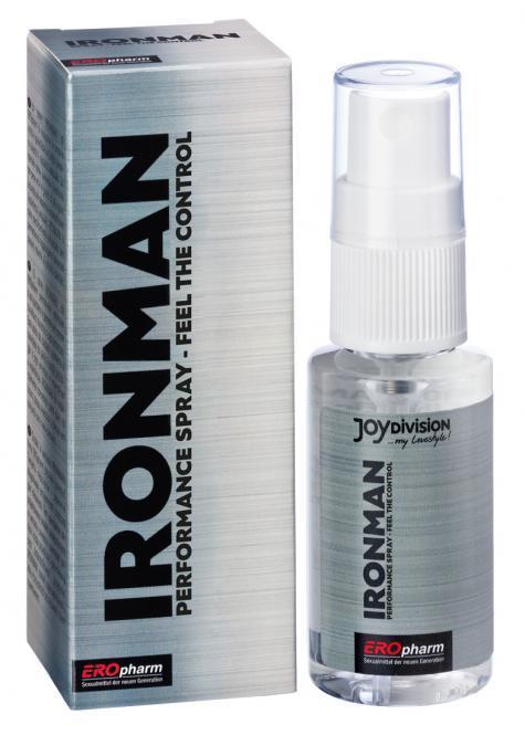 Пролонгатор-спрей для мужчин IRONMAN Spray - 30 мл.-6014