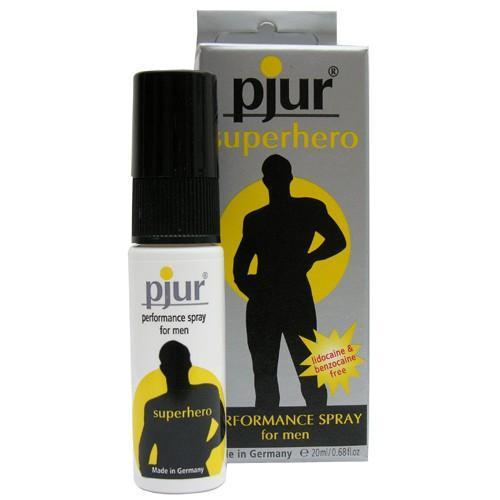 Пролонгирующий мужской спрей pjur SUPERHERO spray - 20 мл.-1614