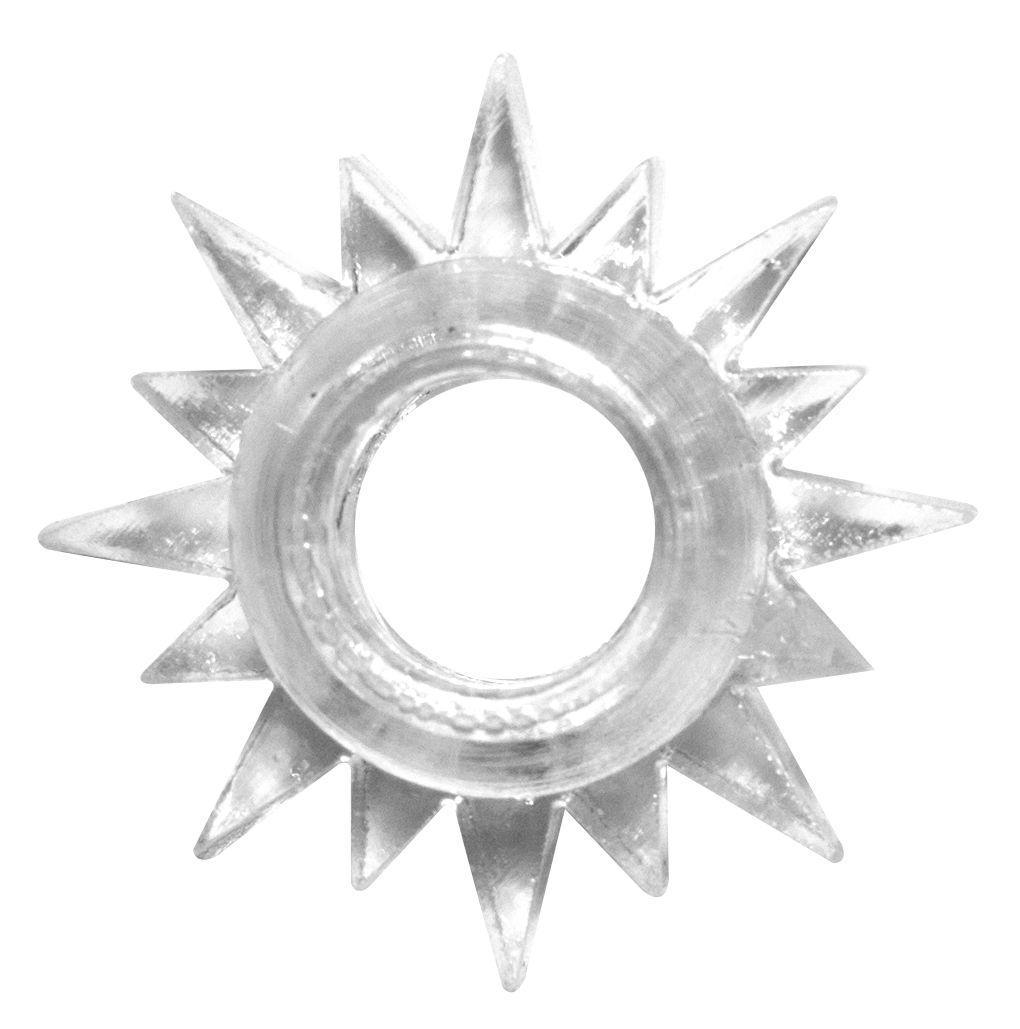 Прозрачное эрекционное кольцо Rings Cristal-9110