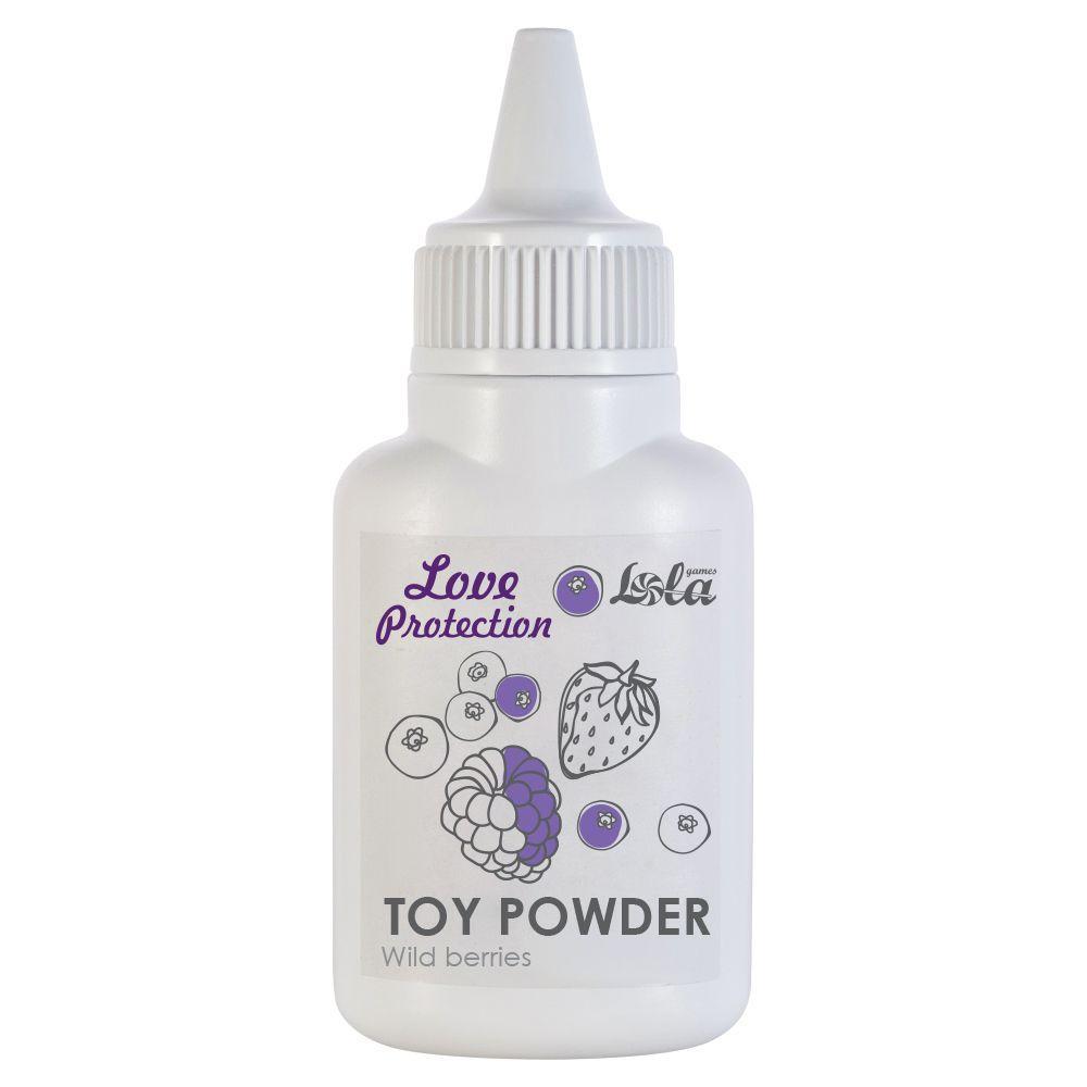 Пудра для игрушек Love Protection с ароматом лесных ягод - 15 гр.-6904