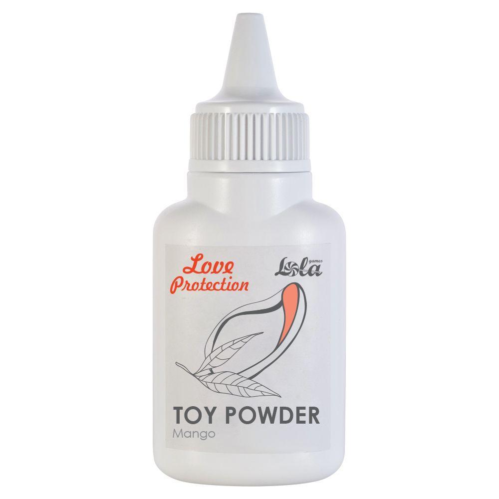 Пудра для игрушек Love Protection с ароматом манго - 15 гр.-6908
