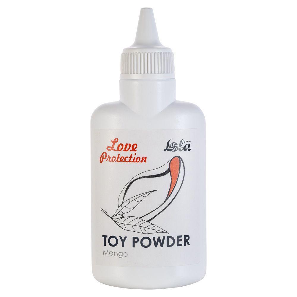 Пудра для игрушек Love Protection с ароматом манго - 30 гр.-6910