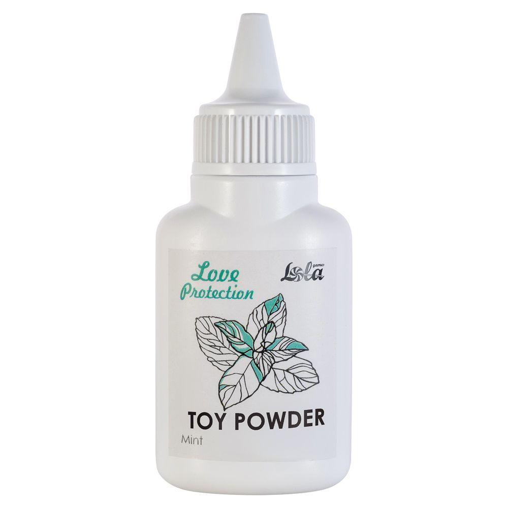 Пудра для игрушек Love Protection с ароматом мяты - 15 гр.-6912