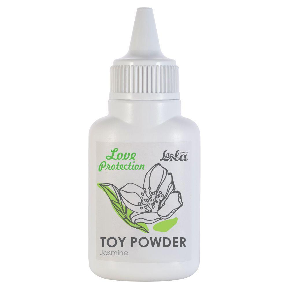 Пудра для игрушек Love Protection с ароматом жасмина - 15 гр.-6896