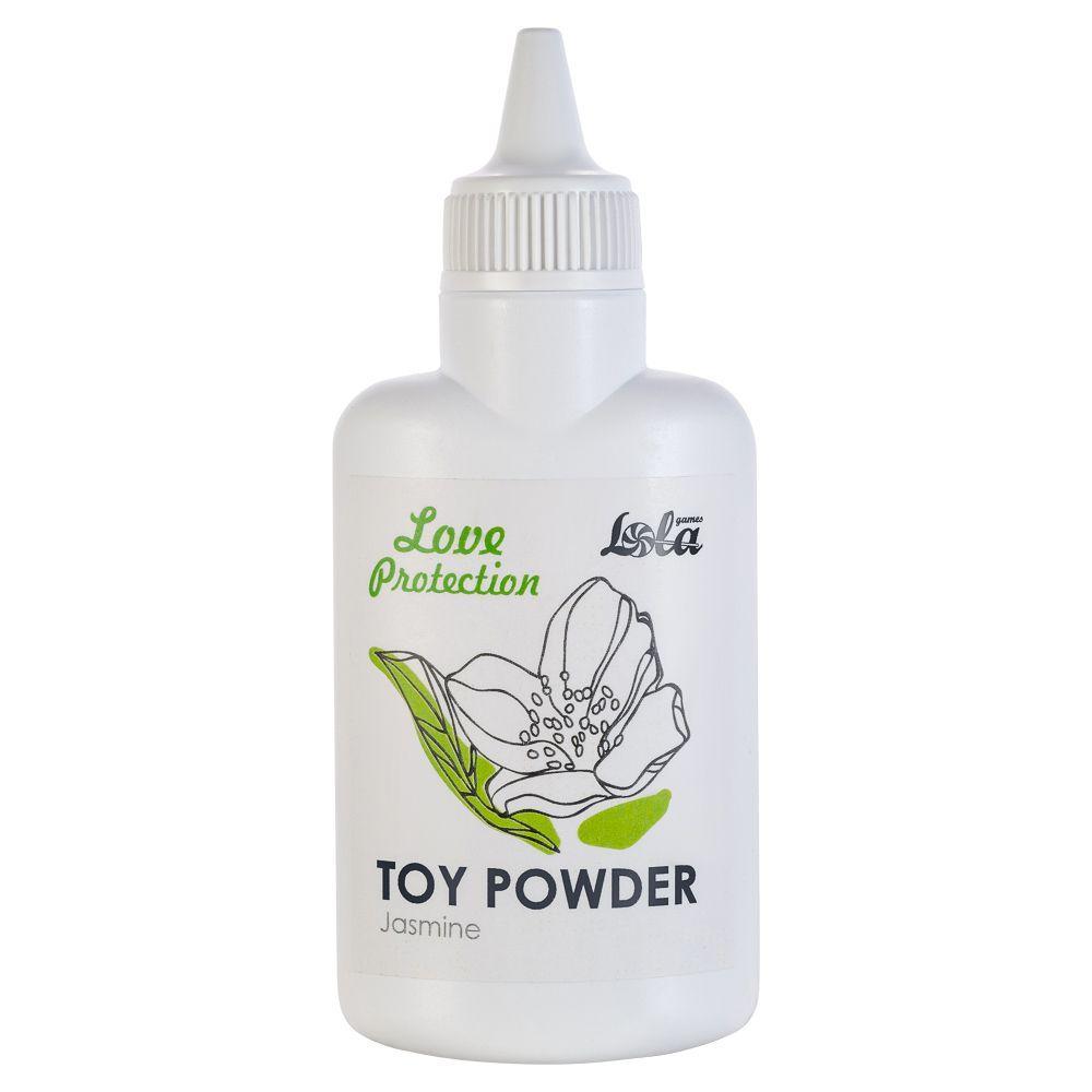 Пудра для игрушек Love Protection с ароматом жасмина - 30 гр.-6898