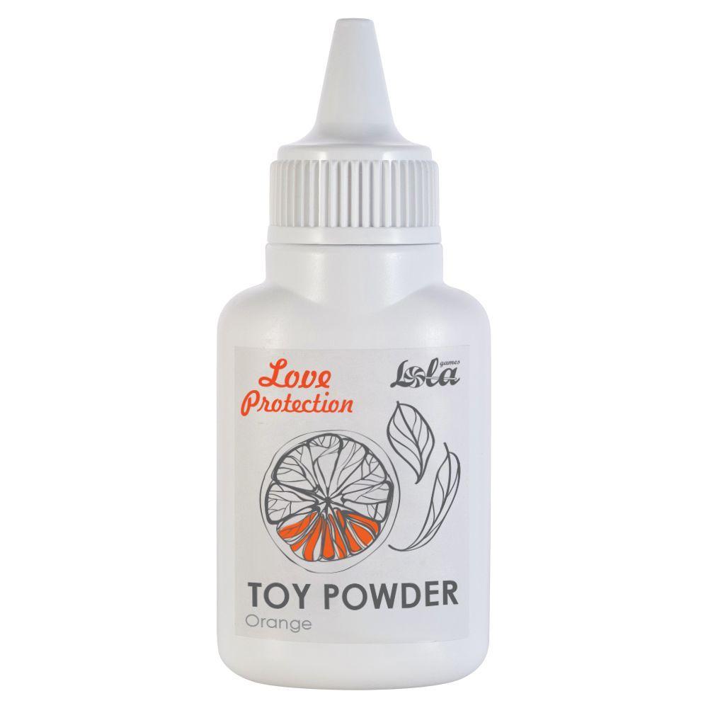Пудра для игрушек с ароматом апельсина Orange - 15 гр.-9135