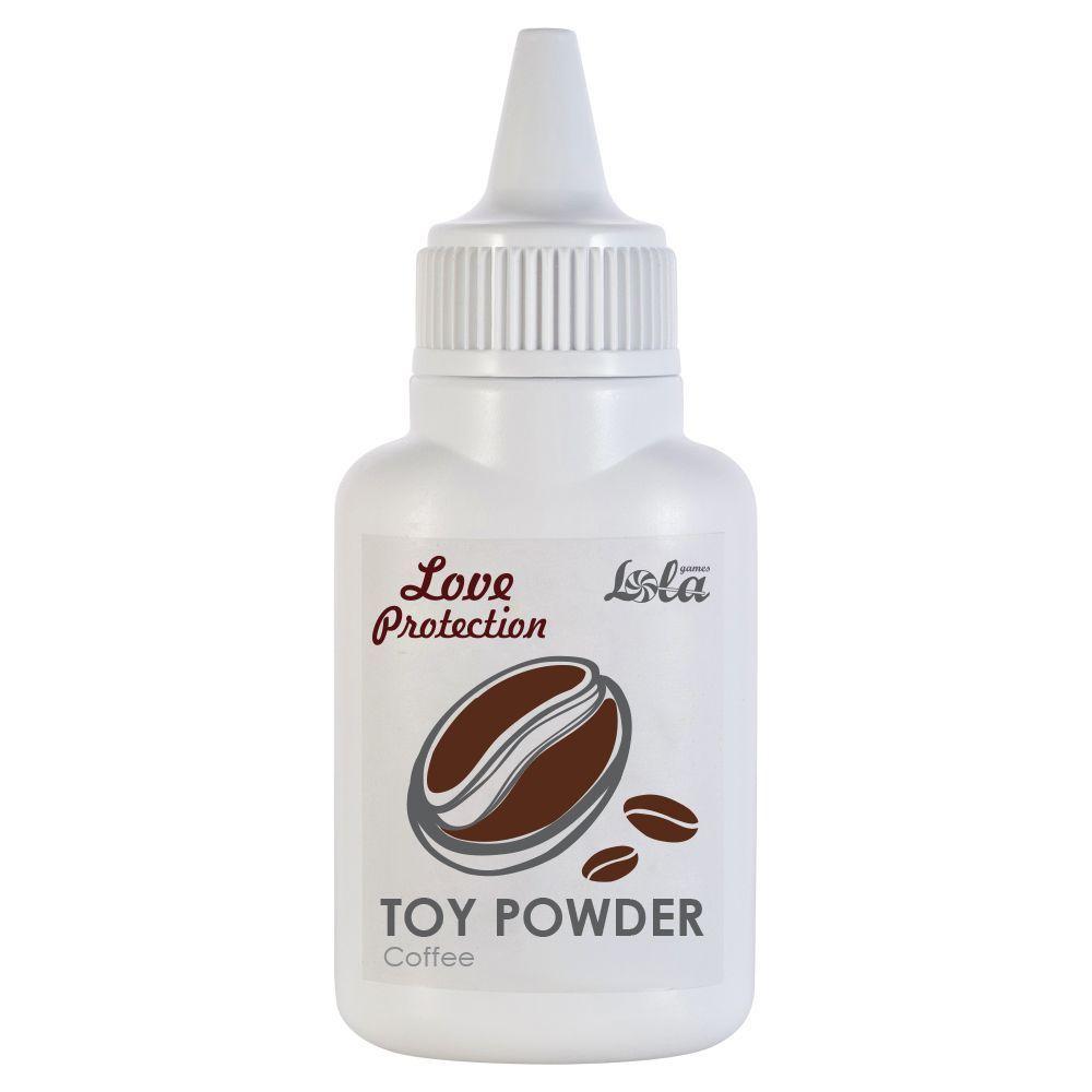 Пудра для игрушек с ароматом кофе Coffee - 15 гр.-9131