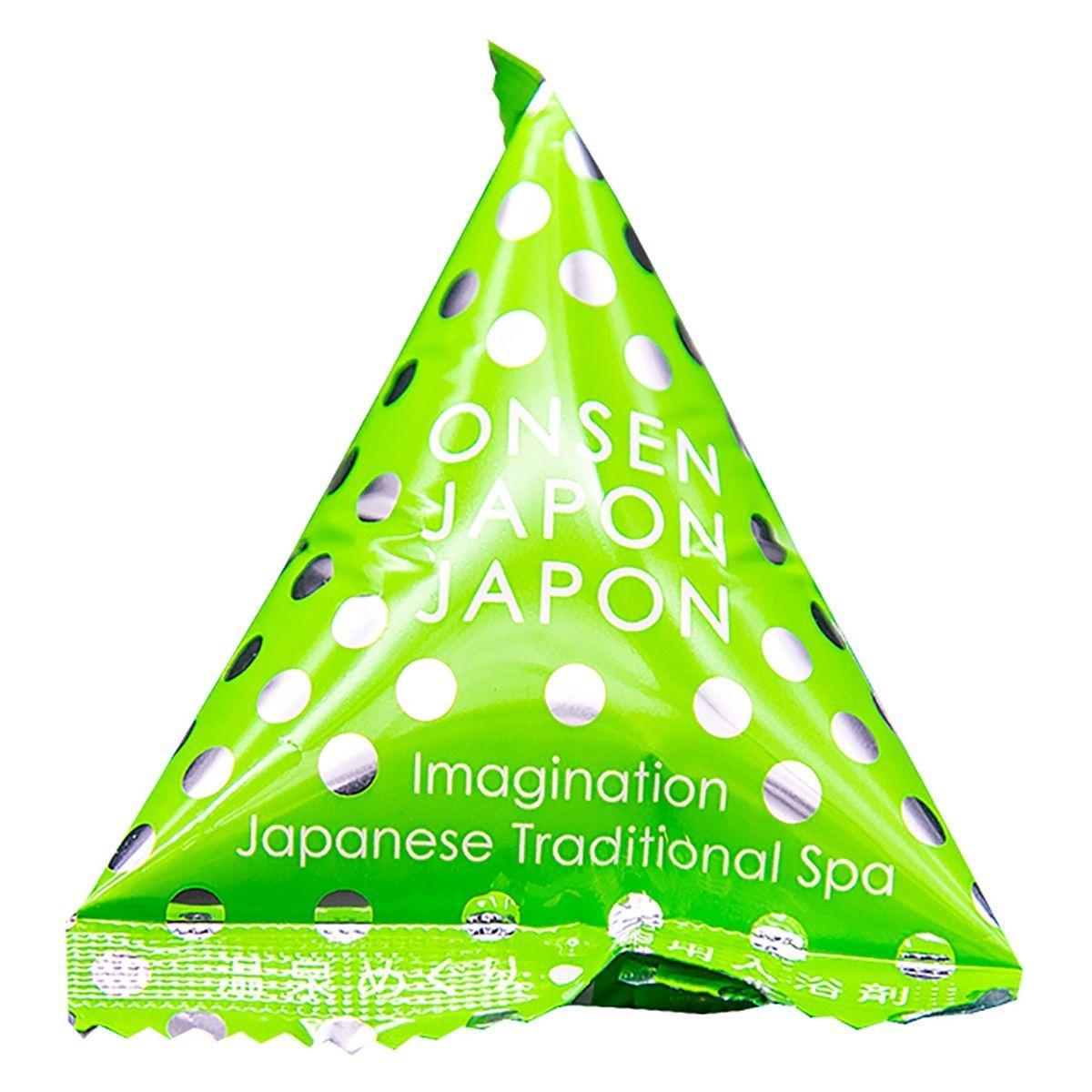 Расслабляющая соль для ванны Источник Яманака с ароматом зеленого леса - 20 гр.-6652