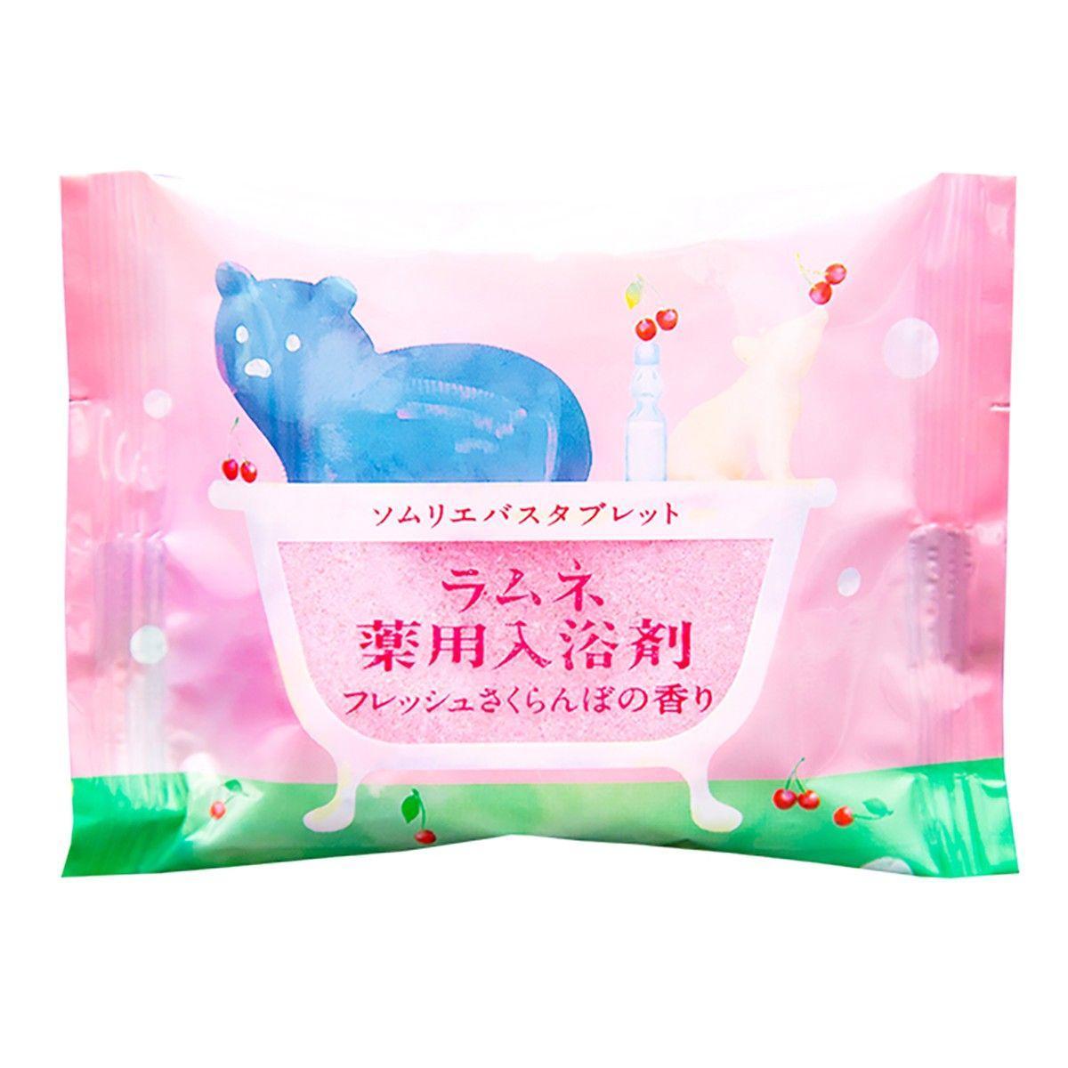 Расслабляющая соль-таблетка для ванны с ароматом цветущей сакуры - 40 гр.-6644