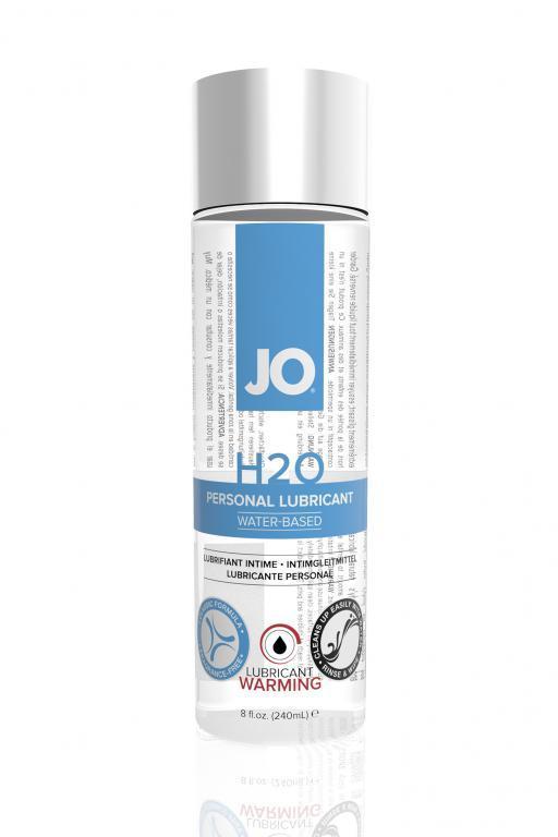 Разогревающий лубрикант на водной основе JO Personal Lubricant H2O Warming - 240 мл.-8456