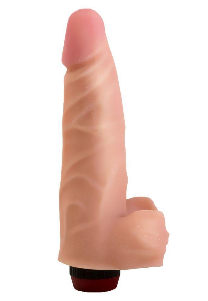 Реалистичный виброфаллос из неоскин - 18