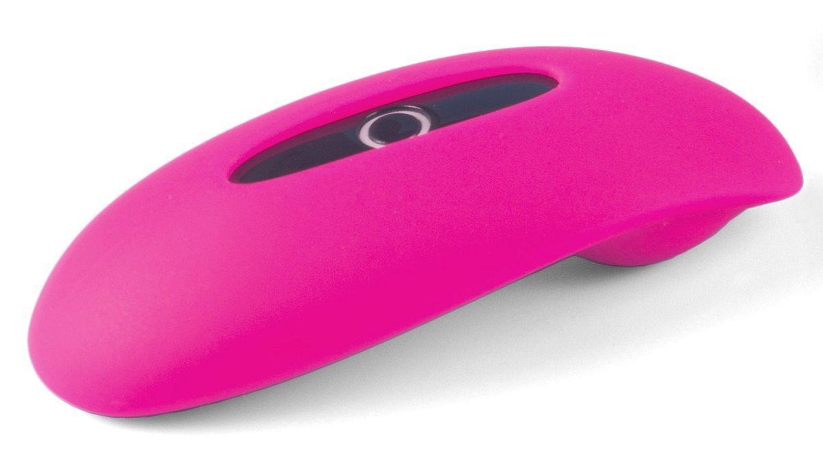 Розовый клиторальный smart-стимулятор MAGIC MOTION CANDY-1542