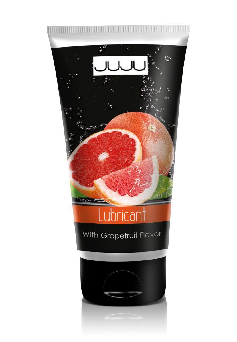 Съедобный лубрикант JUJU с ароматом грейпфрута - 50 мл.-12825