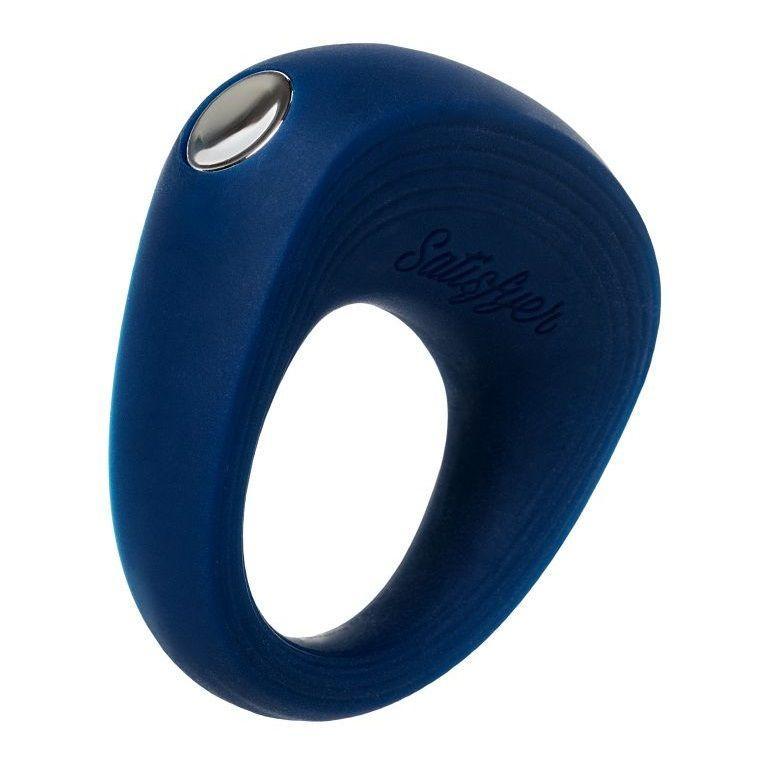 Синее эрекционное кольцо на пенис Satisfyer Ring 2-4966