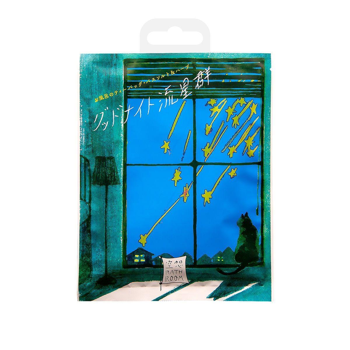 Соль для ванны Романтика звездного дождя с ароматом расслабляющих трав - 30 гр.-6659