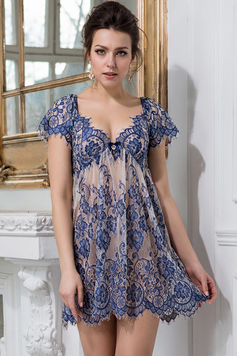 Сорочка Michelle с завышенной талией