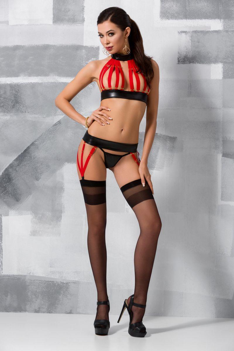 Ультра сексуальный комплект из стреп-лент Aziza