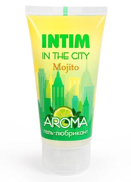 Увлажняющий лубрикант Intim Aroma с ароматом мохито - 60 гр.-2416