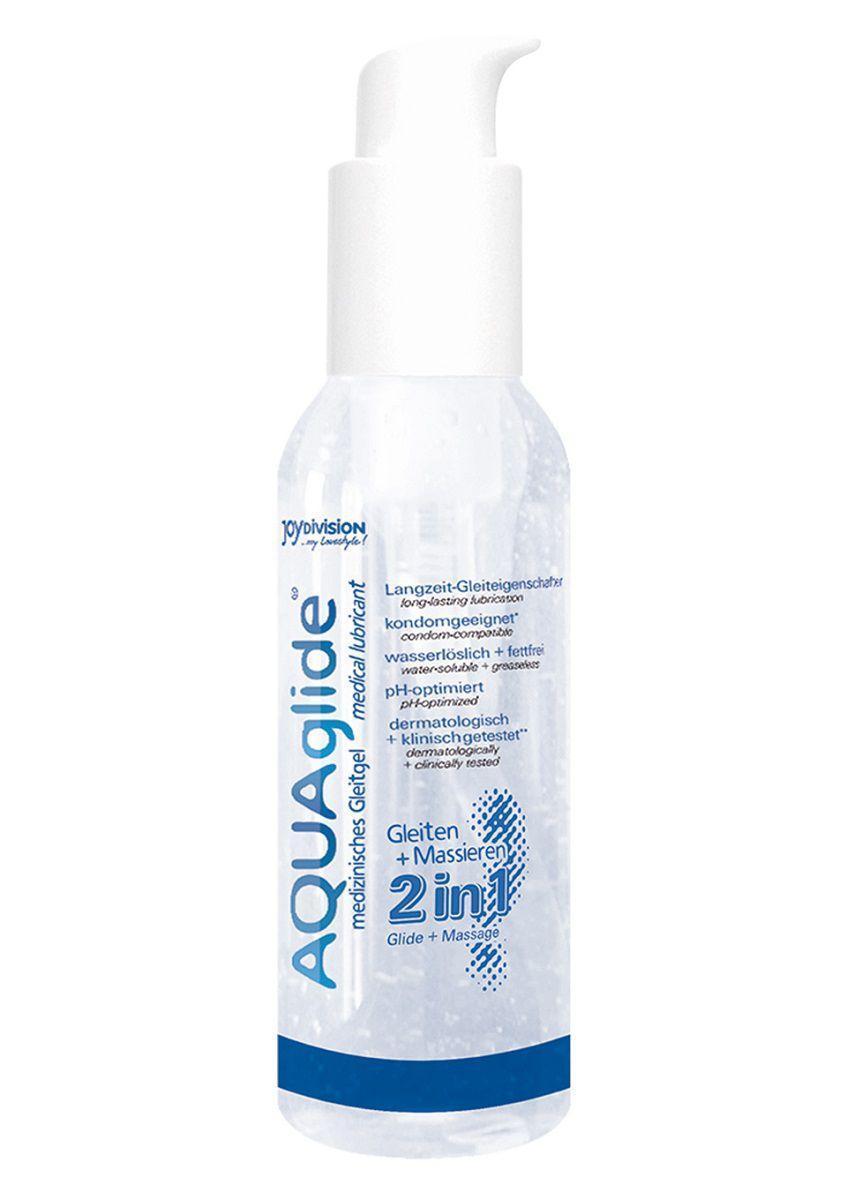 Вагинальная смазка 2-в-1 на водной основе AQUAglide - 125 мл.-12381