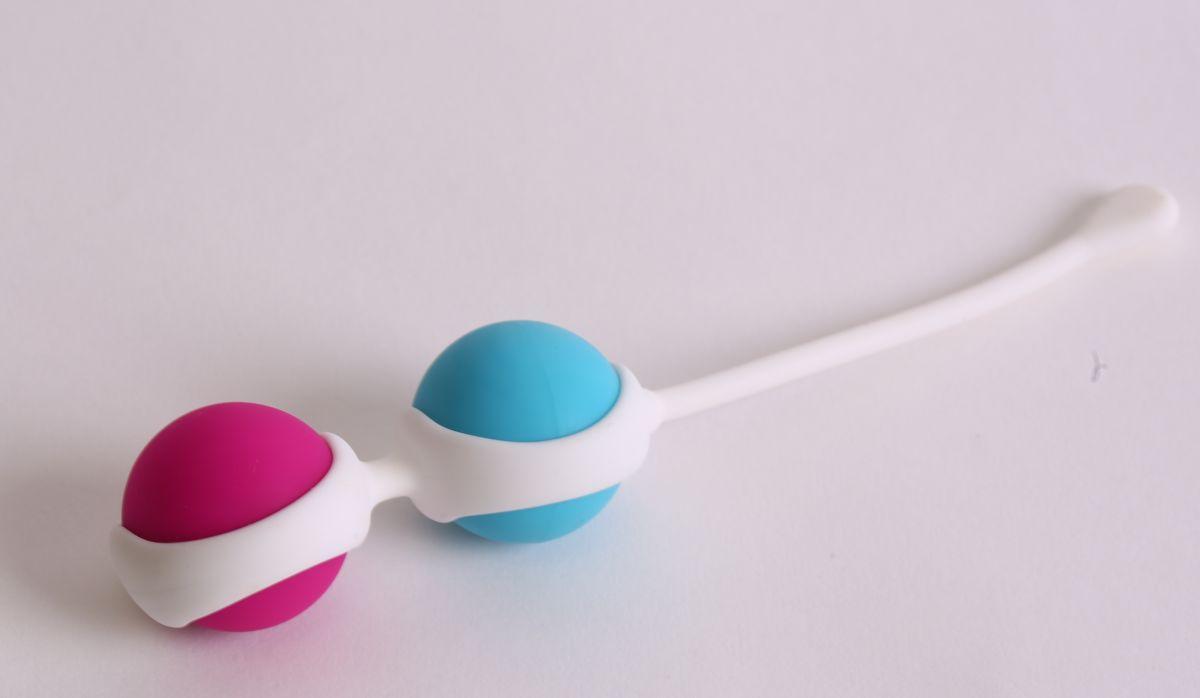 Вагинальные шарики с петелькой для извлечения-9038