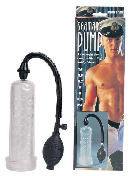 Вакуумный массажер-помпа для мужчин Seaman с силиконовой вставкой-12