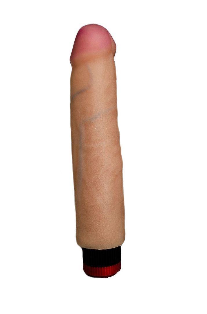 Вибратор HUMAN FORM без мошонки - 21 см.-8146