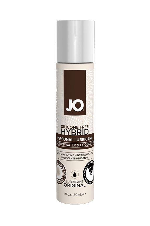 Водно-масляный лубрикант JO Silicon free Hybrid Lubricant ORIGINAL- 30 мл.-2816
