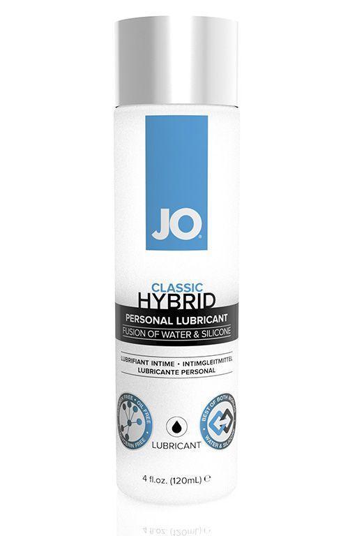 Водно-силиконовый лубрикант JO CLASSIC HYBRID - 120 мл.-11634