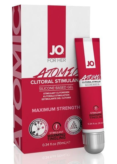 Возбуждающий гель для клитора мощного действия JO CLITORAL ATOMIC - 10 мл.-5082