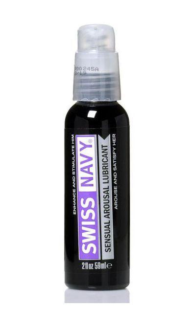 Возбуждающий гель-лубрикант на водной основе Sensual Arousal Lubricant - 59 мл.-6763