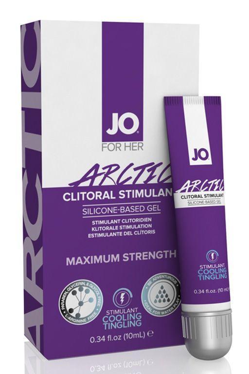 Возбуждающий гель с охлаждающим эффектом JO CLITORAL ARCTIC - 10 мл.-5087