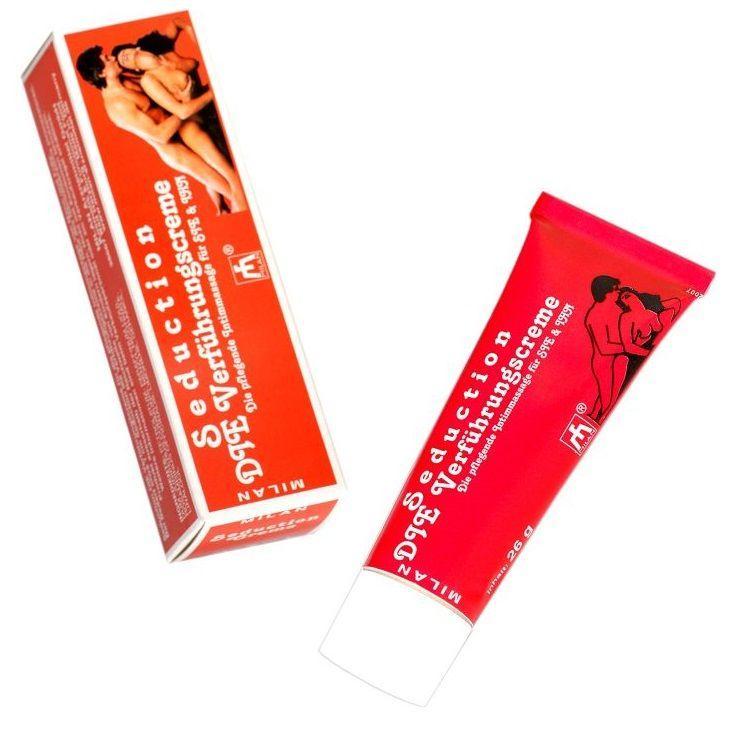 Возбуждающий интимный крем для мужчин и женщин Seduction - 28 мл.-3849