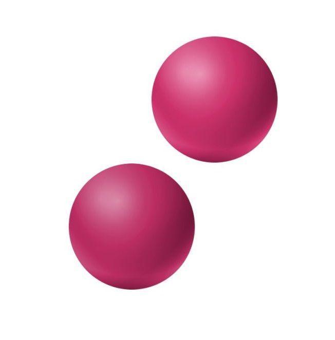 Ярко-розовые вагинальные шарики без сцепки Emotions Lexy Small-10677