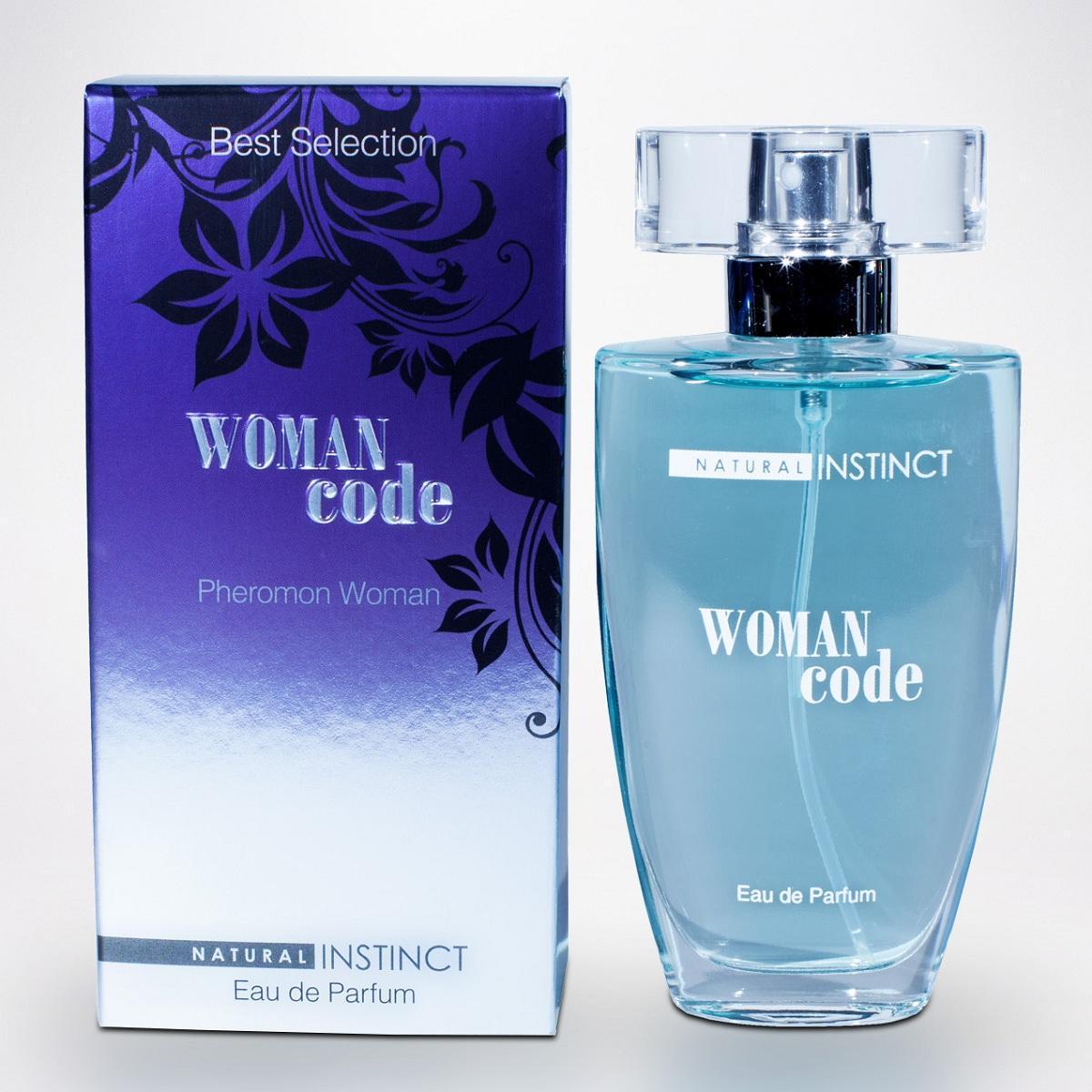Женские духи с феромонами Natural Instinct Woman Code - 50 мл.-6319