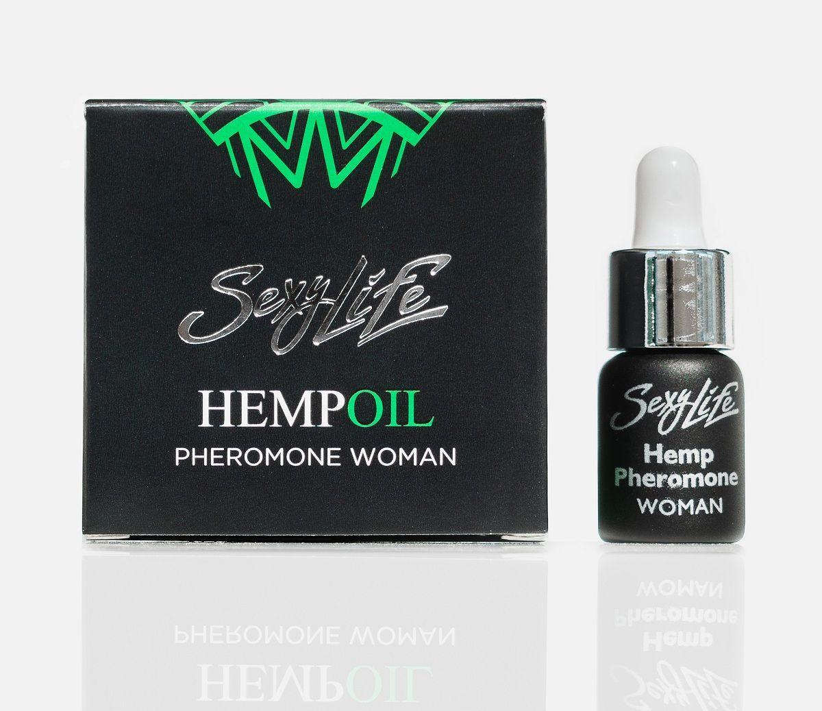 Женские духи с феромонами Sexy Life HEMPOIL woman - 5 мл.-8164