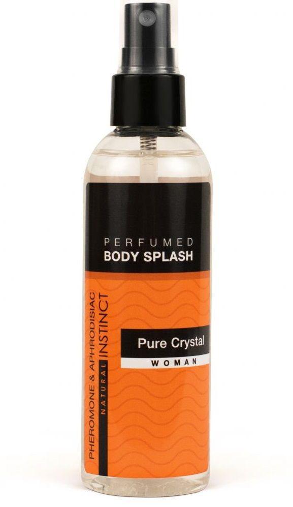 Женский спрей для тела с феромонами Pure Crystal - 100 мл.-10481