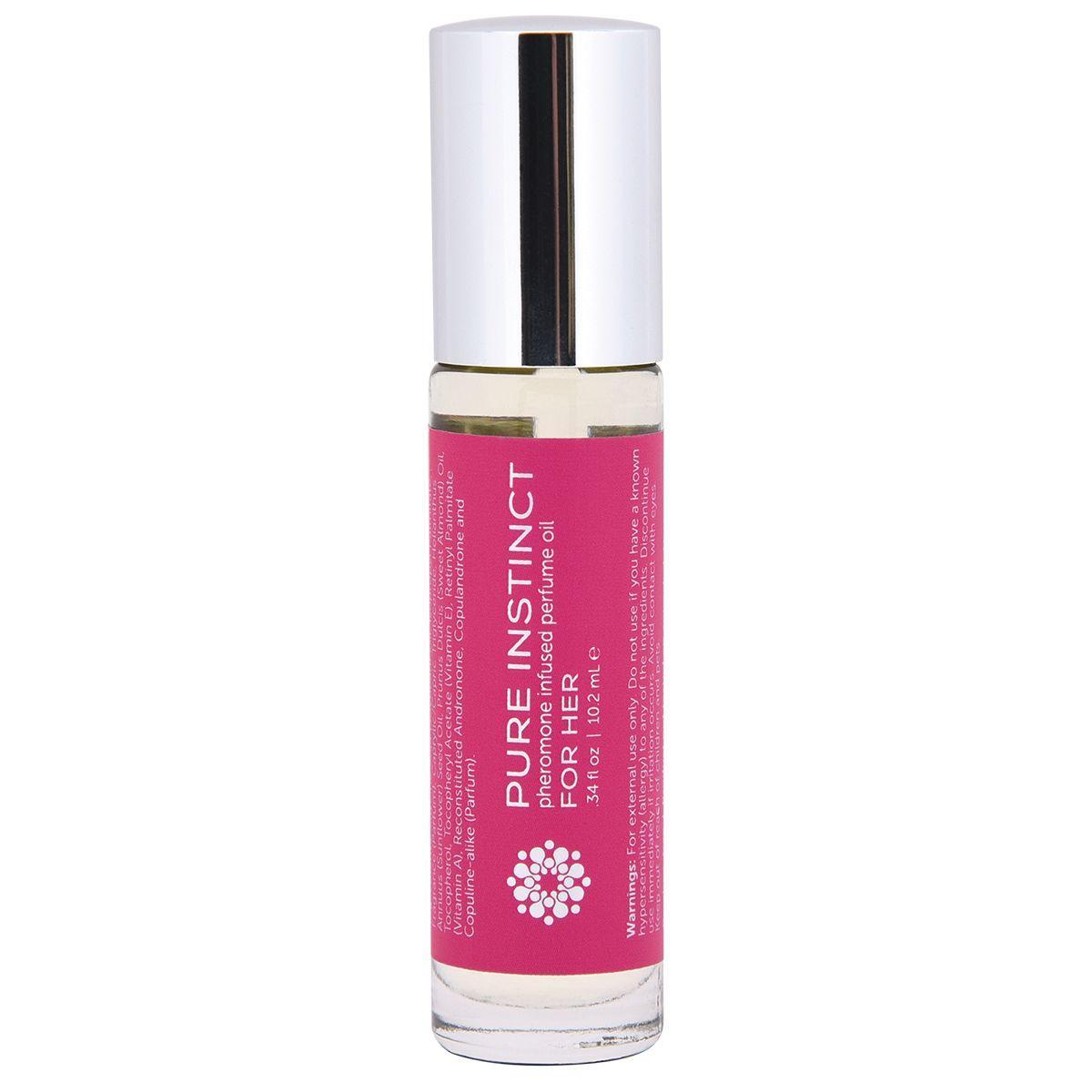 Женское парфюмерное масло с феромонами PURE INSTINCT - 10