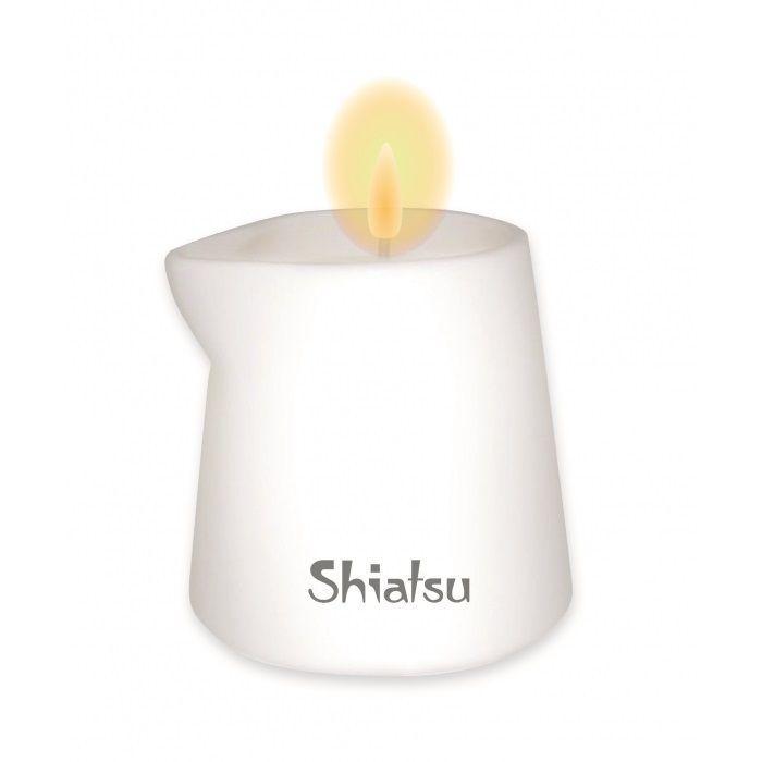 Массажная свеча с ароматом малины и ванильного крема - 130 гр.-1032