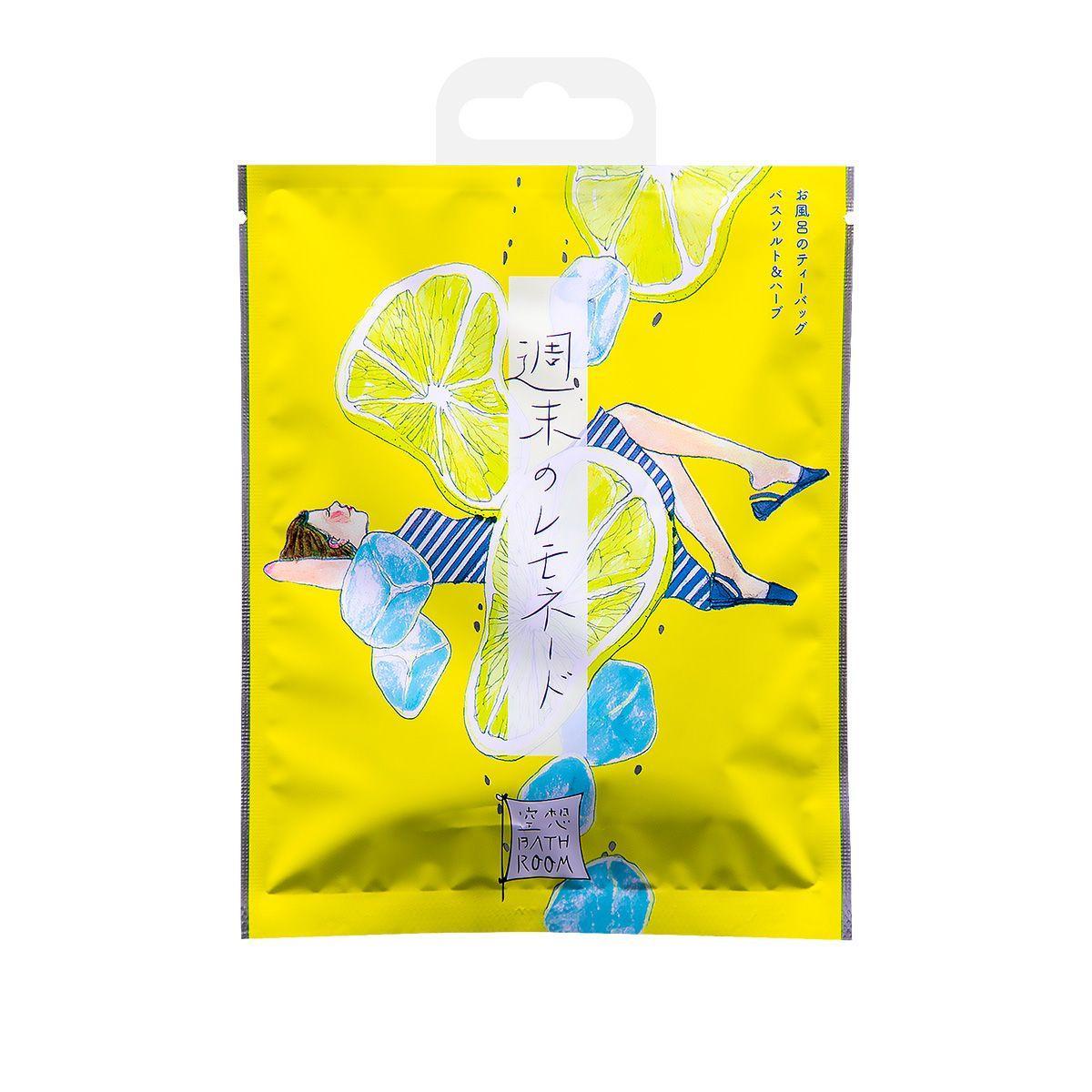 Соль-саше для ванн Расслабляющий лимонад с ароматом лимона и меда - 30 гр.-963