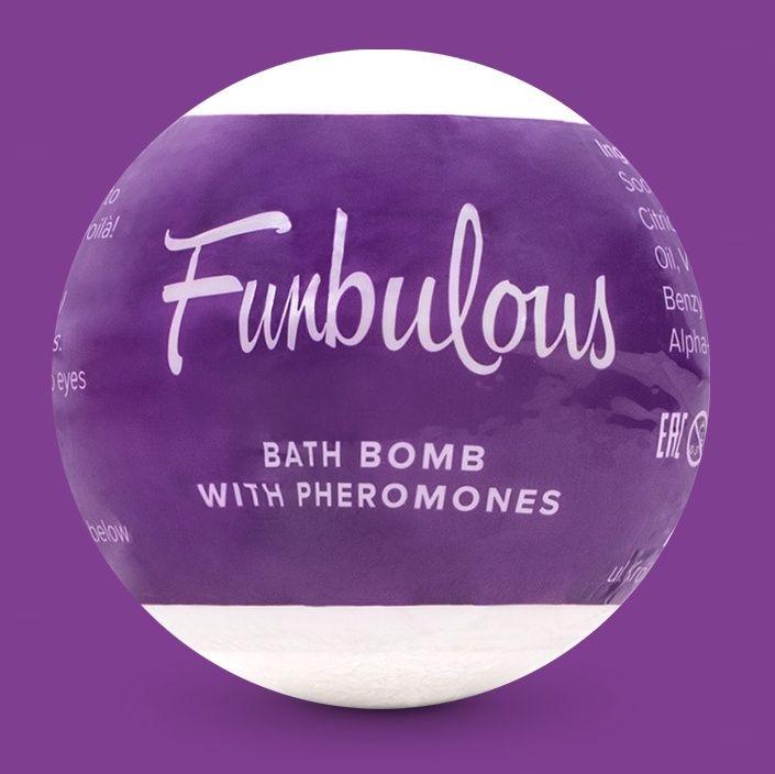 Бомбочка для ванны с феромонами Fun - 100 гр.-1765
