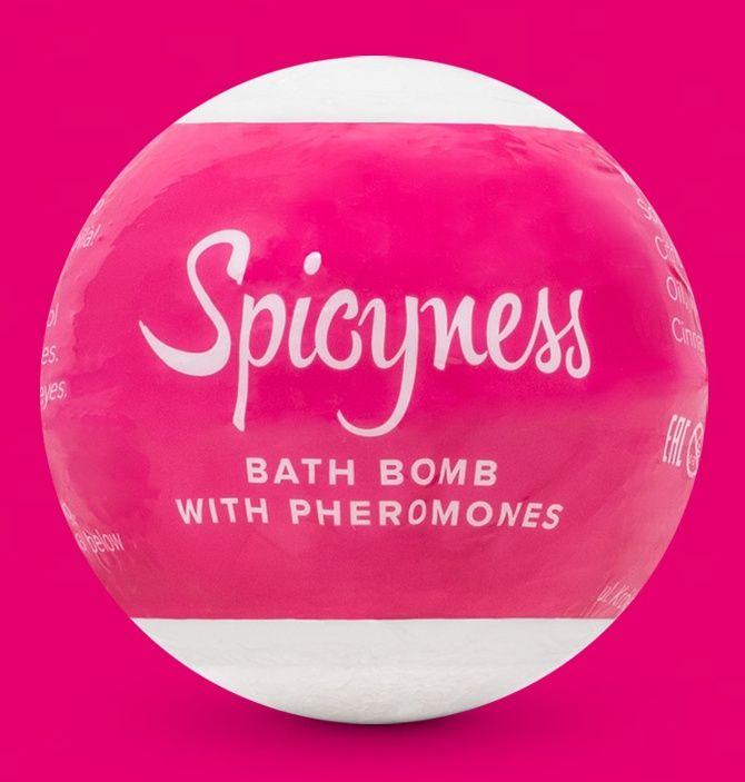 Бомбочка для ванны с феромонами Spicy - 100 гр.-1772