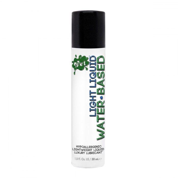 Лубрикант для чувствительной кожи Wet Light Liquid Lubricant - 30 мл.-3890