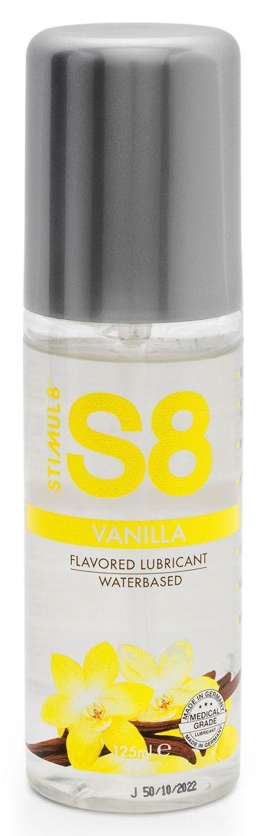 Лубрикант на водной основе Stimul8 Flavored Lube с ванильным ароматом - 125 мл.-184